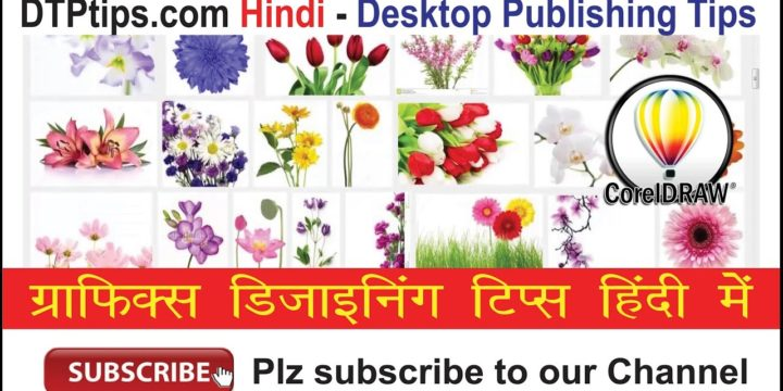CorelDraw Tip 28: Creating a Flower Vector Photo Frame in CorelDraw in Hindi