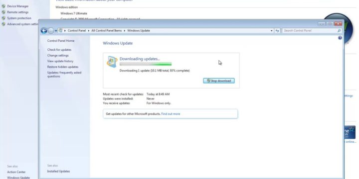 Solved: Steps to Update Windows 7 Ultimate into Windows 7 Service Pack 1